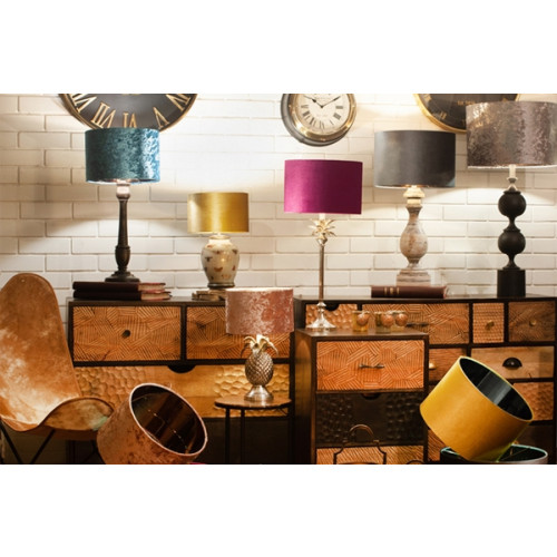 Our New Luxurious Velvet Lampshades