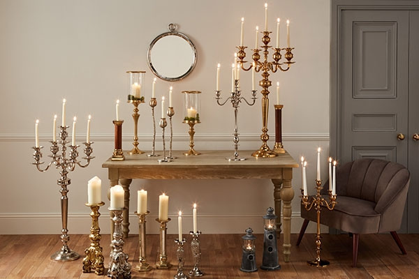Style Edit - Candelabras, Vases & Finishing Touches