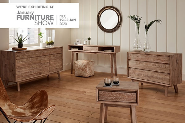 Join us at the January Furniture Show