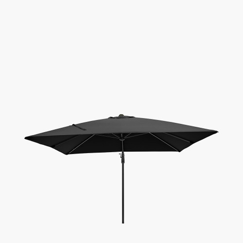 Glow Challenger T2 3m Square Anthracite Parasol