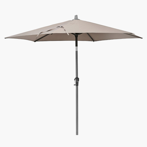 Riva 2.5m Round Taupe Parasol