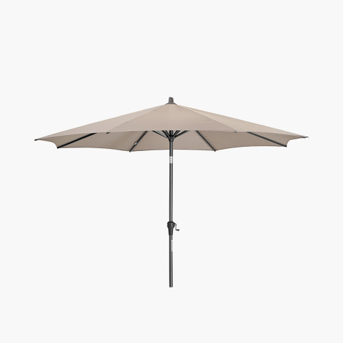 Riva 3m Round Taupe Parasol