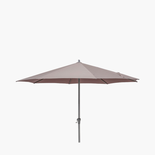 Riva 3.5m Round Taupe Parasol