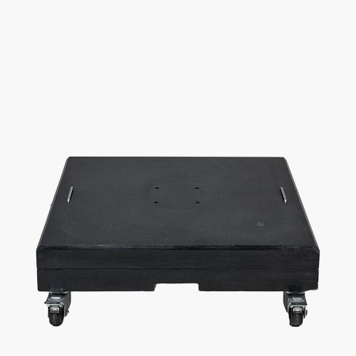 Black Polished Granite 150KG Parasol Base