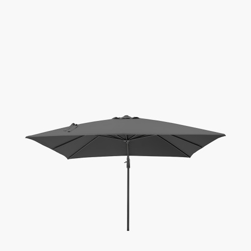 Challenger T2 3m Square Anthracite Parasol