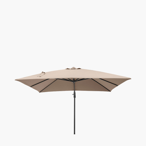 Challenger T2 3m Square Taupe Parasol