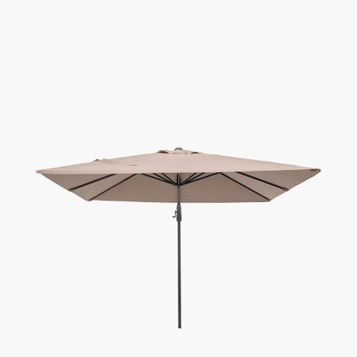 Voyager T2 2.7m Square Taupe Parasol