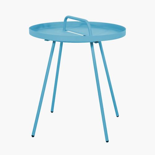Blue Metal Rio Table