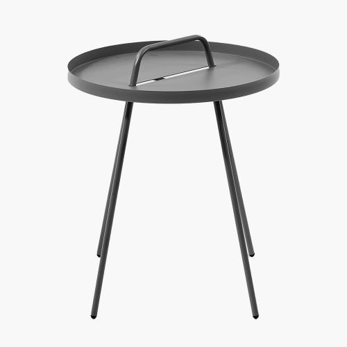 Grey Metal Rio Table