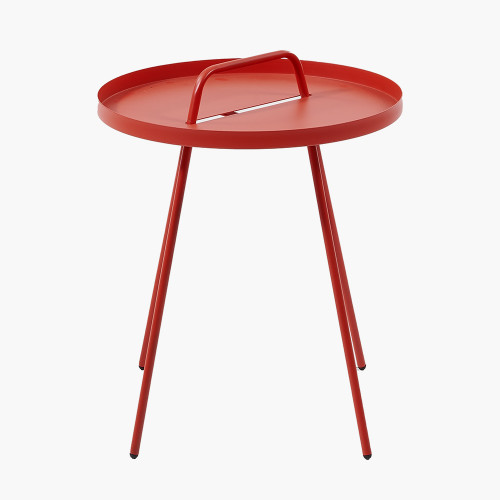 Red Metal Rio Table