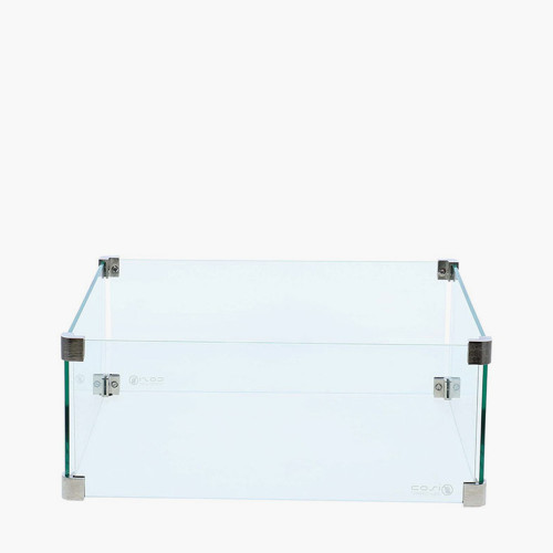 Cosiglass Set Square Fire Pit Large