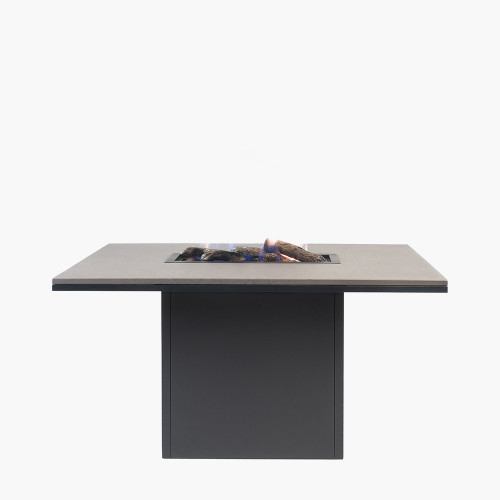Cosiloft 120 Relaxed Dining Black and Grey