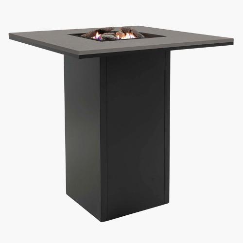 Cosiloft 100 Bar Table Black and Grey
