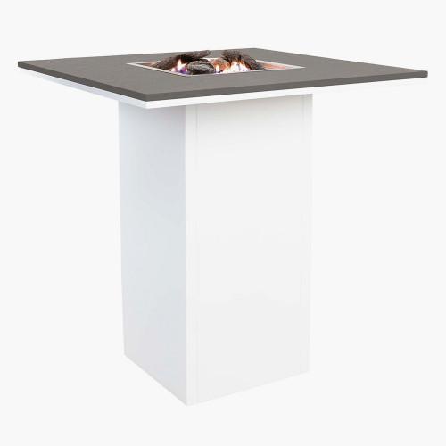 Cosiloft 100 Bar Table White and Grey