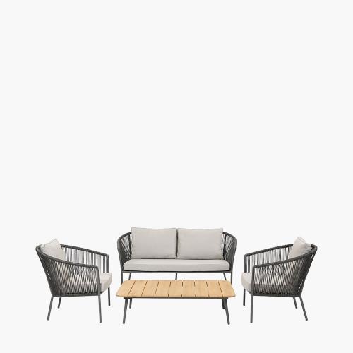 Reims Lounge Set Grey