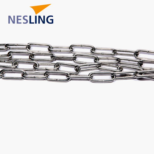 Chain link 4mm, long 2m, INOX