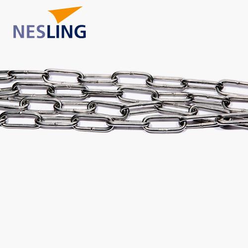 Chain link 4mm, long 2m, INOX