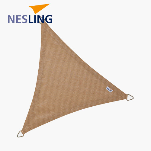 5m Triangle Shade Sail Sand