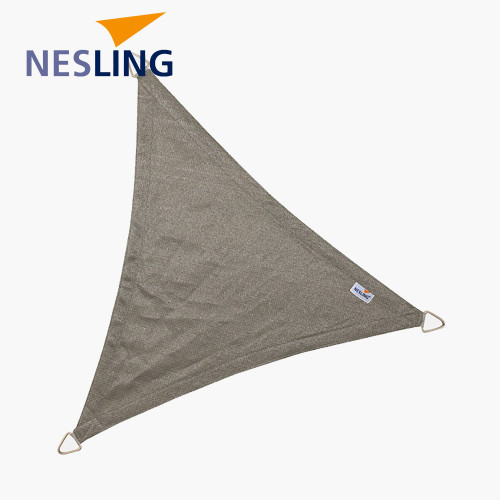 5m Triangle Shade Sail Grey