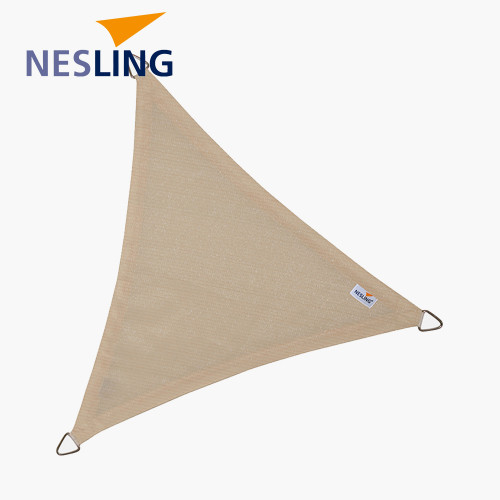 3.6m Triangle Shade Sail Off-White