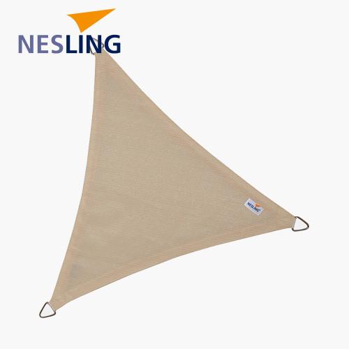 5m Triangle Shade Sail Off-White