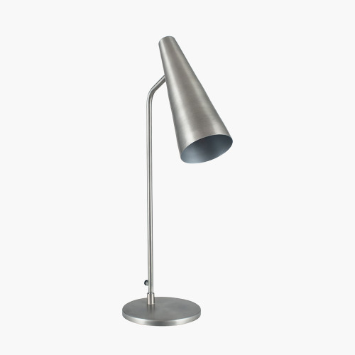 Antique Silver Task Table Lamp