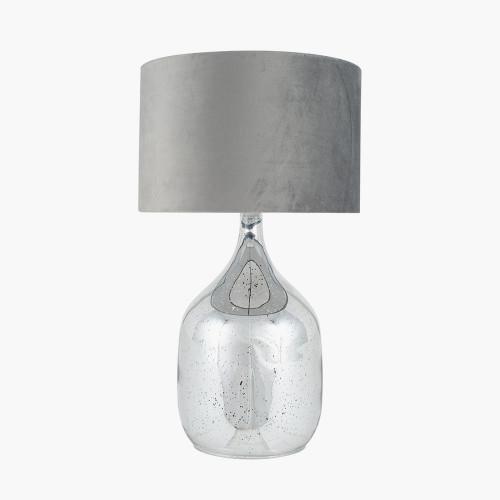 Mercurial Glass Dual Light Table Lamp