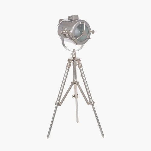 Nickel Searchlight Table Lamp