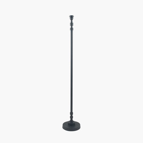 Matt Black Stick Floor Lamp Base