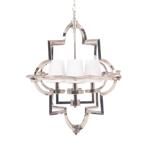 Nickel Metal Four Shade Pendant