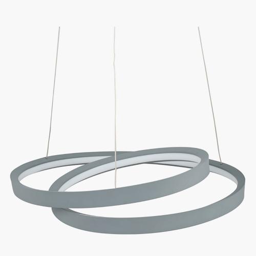 Grey LED Ring Pendant