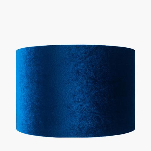 25cm Sapphire Velvet Cylinder Shade
