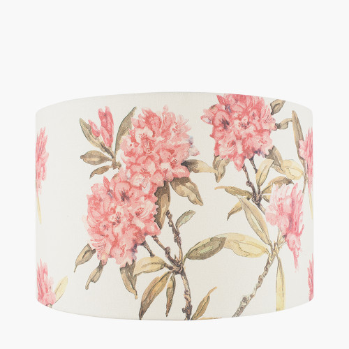 40cm Jenny Worrall Rhododendron Linen Sha
