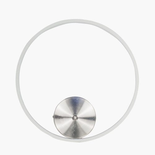White LED Circle Wall Light