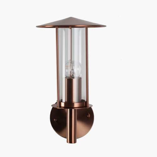 Copper Metal Chimney Wall Light