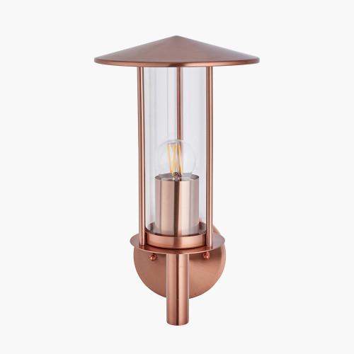 Copper Metal Chimney Wall Light