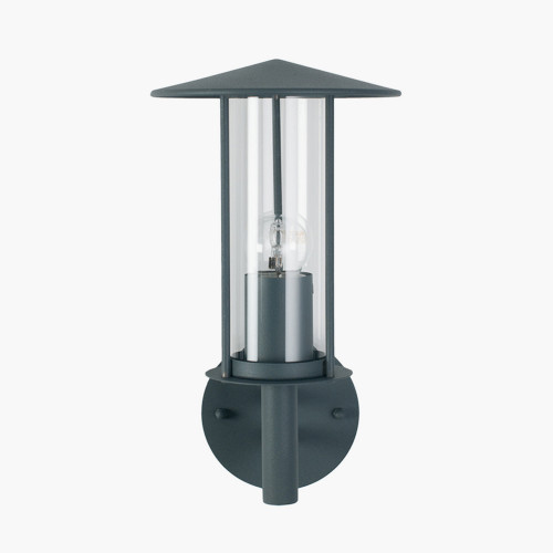 Dark Grey Metal Chimney Wall Light