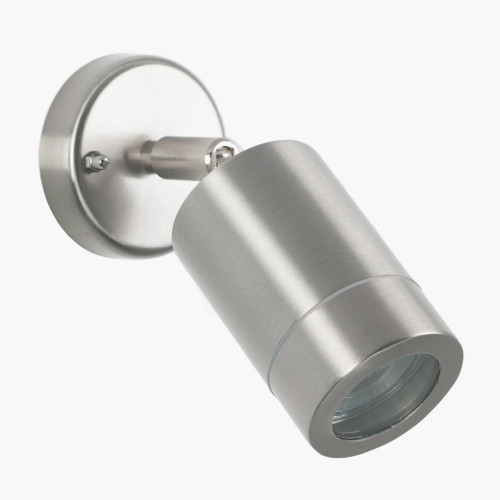 Brushed Steel Adjustable Directional Spot Light