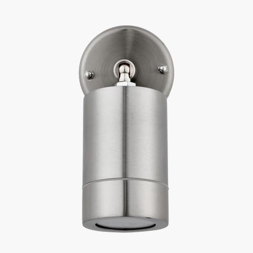 Brushed Steel Adjustable Directional Spot Light