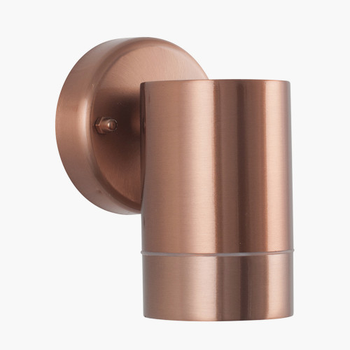 Copper Metal Fixed Spot Wall Light