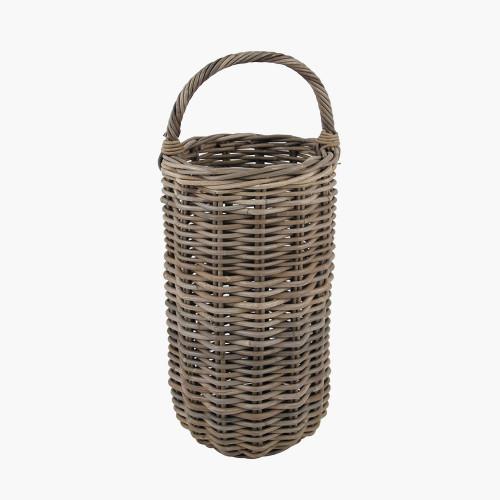 Grey Kubu Umbrella Basket