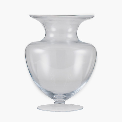 Clear Glass Bolero Vase
