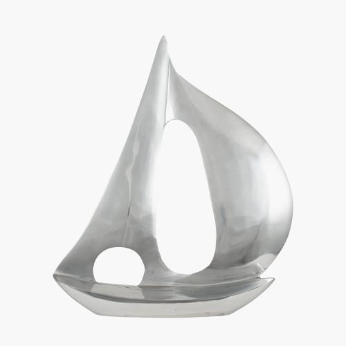 Polished Aluminium Sailing Boat