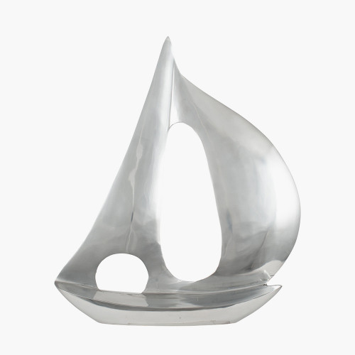 Polished Aluminium Sailing Boat