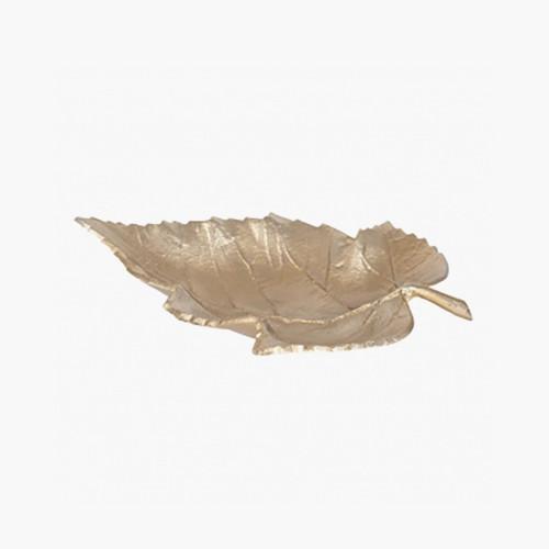 Gold Metal Leaf Bowl