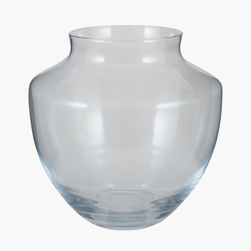 Clear Glass Elza Vase Large