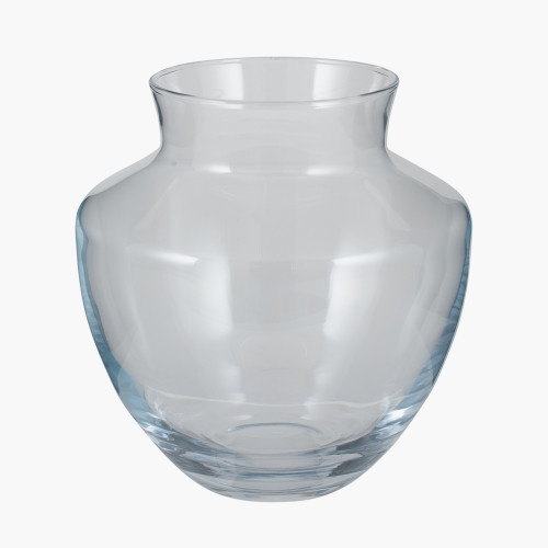 Clear Glass Elza Vase Small