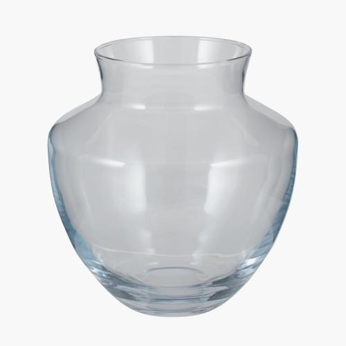 Clear Glass Elza Vase Small