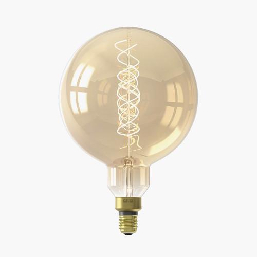 Calex LED Full Glass Flex Filament Mega Globe Blub