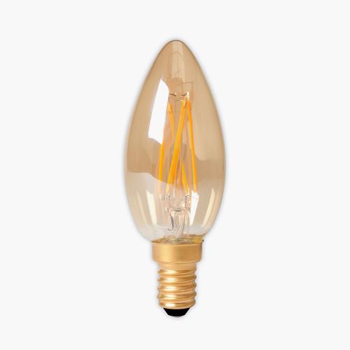 Calex LED E14 Full Glass Filament Candle